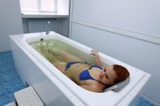 Родоновые ванны