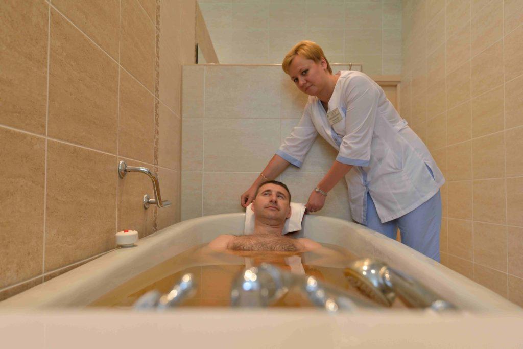 польза радоновых ванн для мужчин