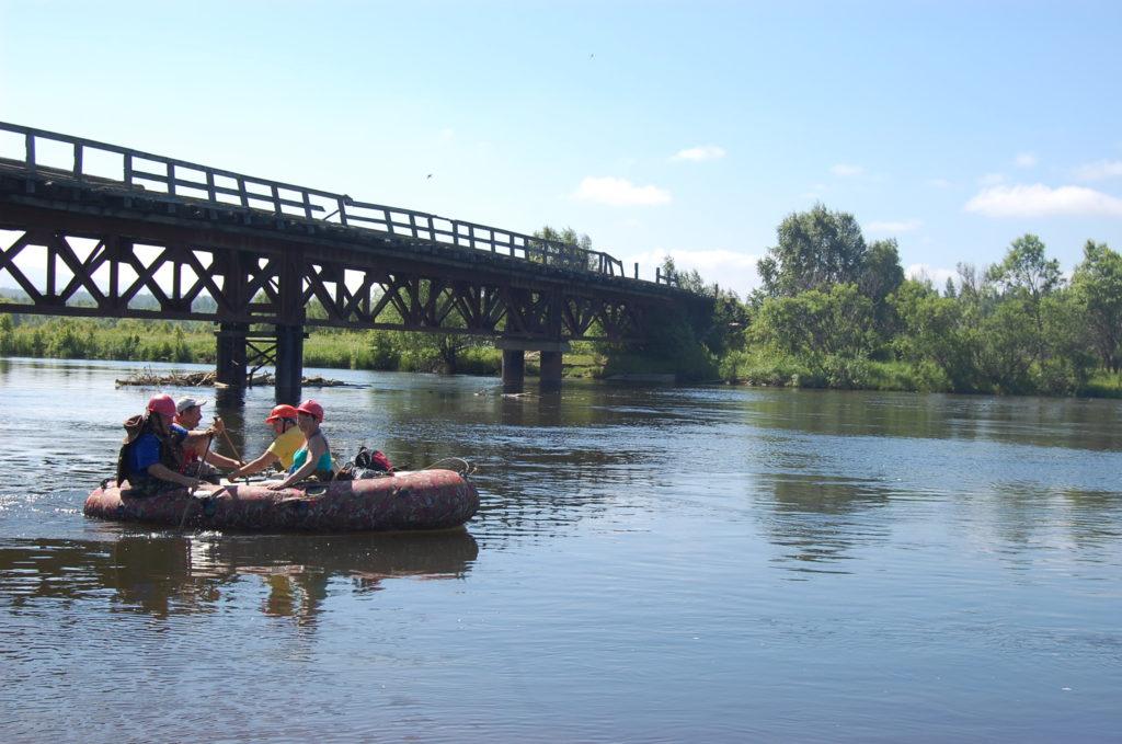 "база отдыха мо рф ""Байкал"": сплав по реке"
