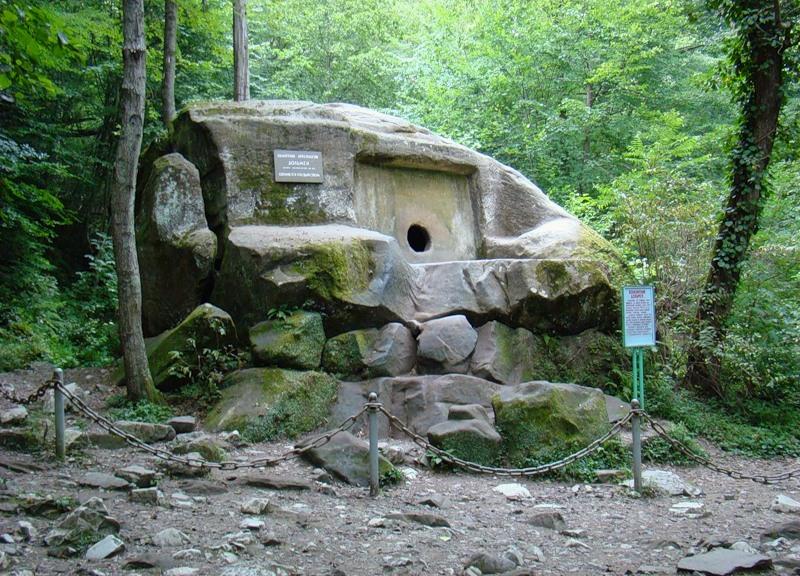 Волконское ущелье в Сочи