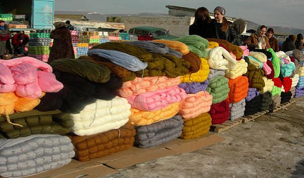 Рынок вязаных вещей в Кисловодске