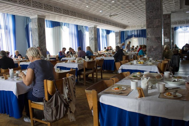 Феодосийский военный санаторий МО РФ: питание и столовая