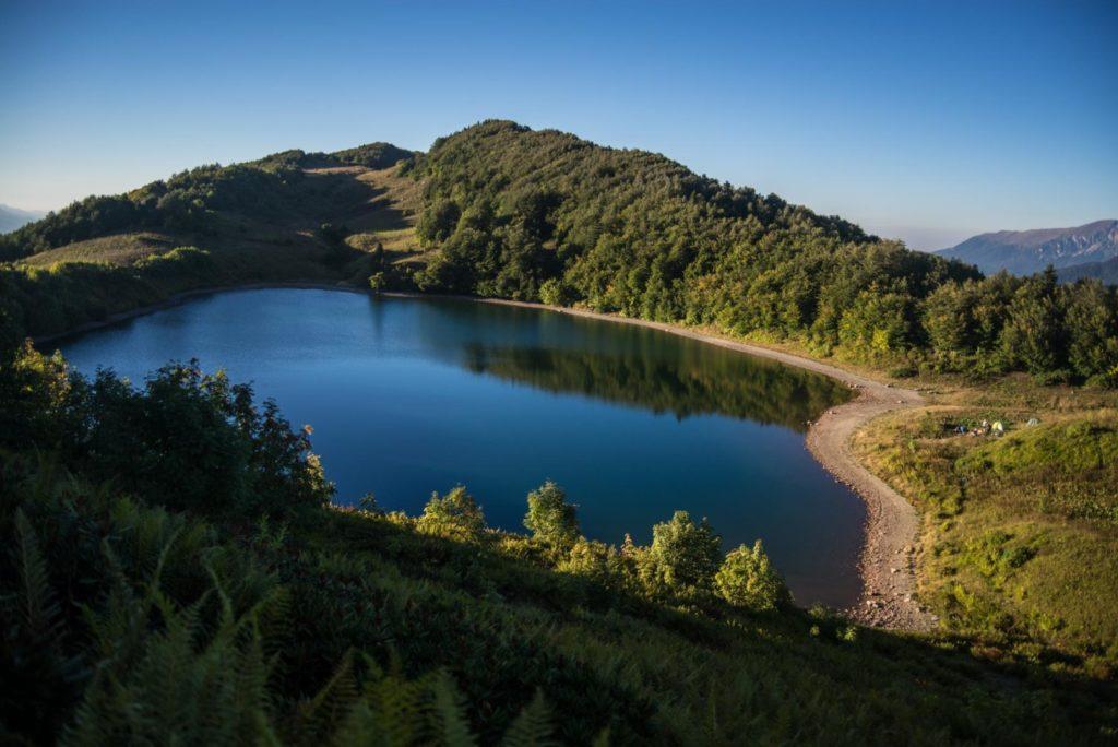 Озеро Хуко в Сочи