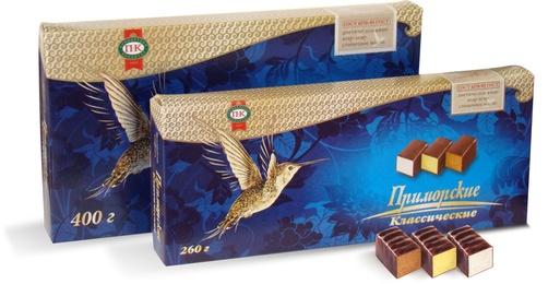 Что привезти из Владивостока - конфеты Приморские