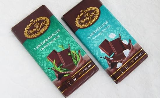 Что привезти из Владивостока - шоколад с морской солью и морской капустой