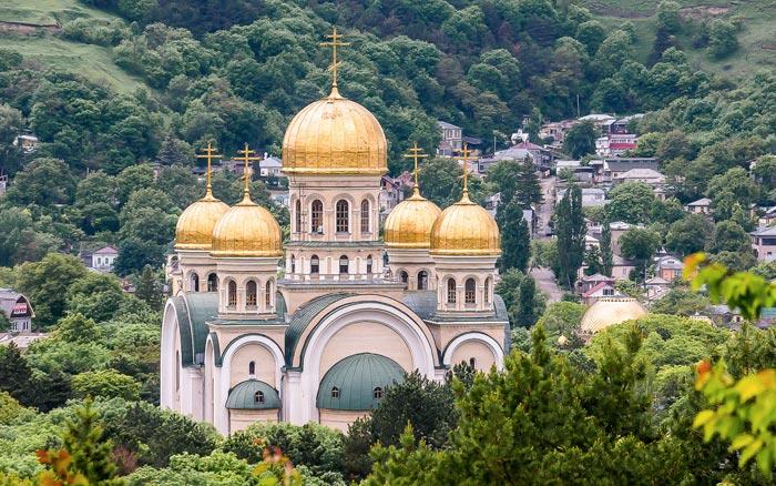Свято-Никольский собор в Кисловодске