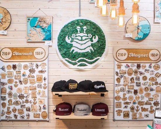 Сувенирный магазин во Владивостоке