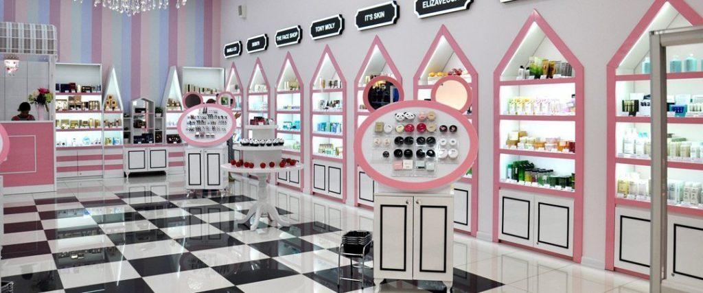 Магазины корейской и японской косметики во Владивостоке