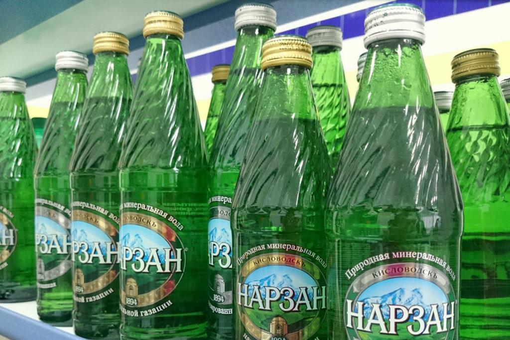Минеральная вода в Кисловодске