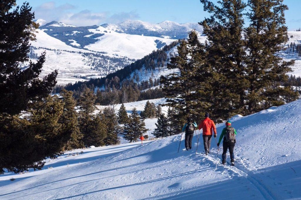 Зимний отдых в Адыгее - лыжные походы
