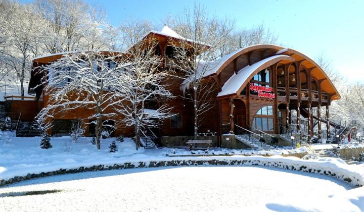 Базы отдыха в Адыгее зимой