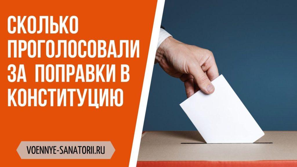 сколько проголосовали за конституцию