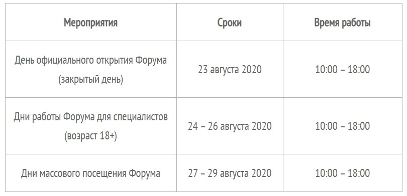 "Программа форума ""Армия-2020"""