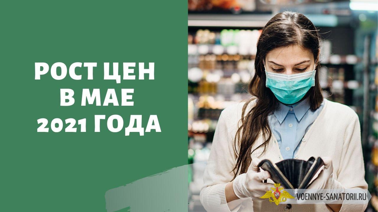 Рост цен в России в мае 2021 года