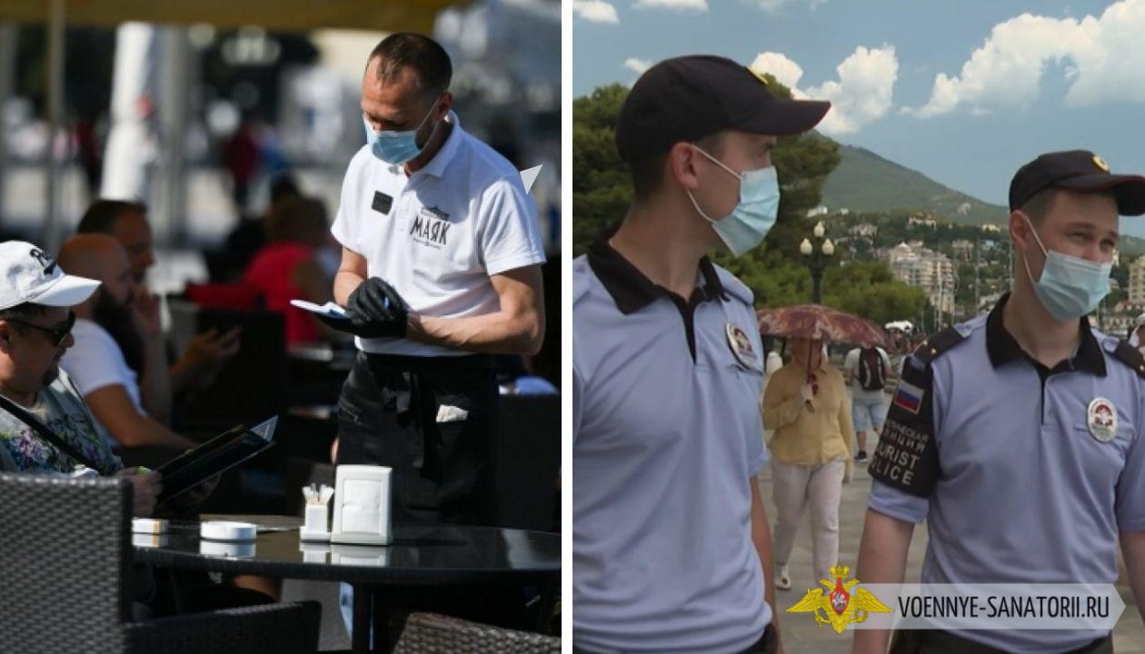 В Ялте третий сезон работают отряды туристической полиции, отслеживается работа заведений, нарушителей штрафуют